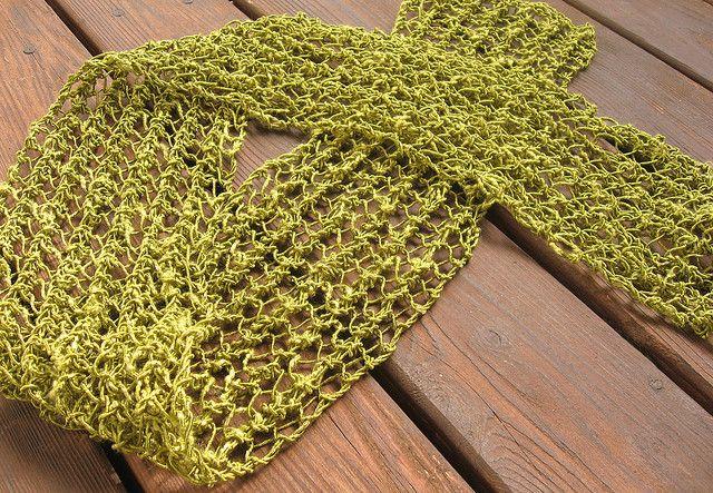 Knitting Pattern For Summer Scarf : Summer Scarf crocheting/knitting Pinterest