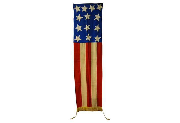 american flag & banner