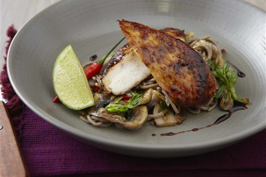 Chicken teriyaki with soba noodles recipe. Just made this and it is ...