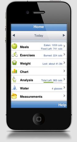 best iphone calorie tracker app