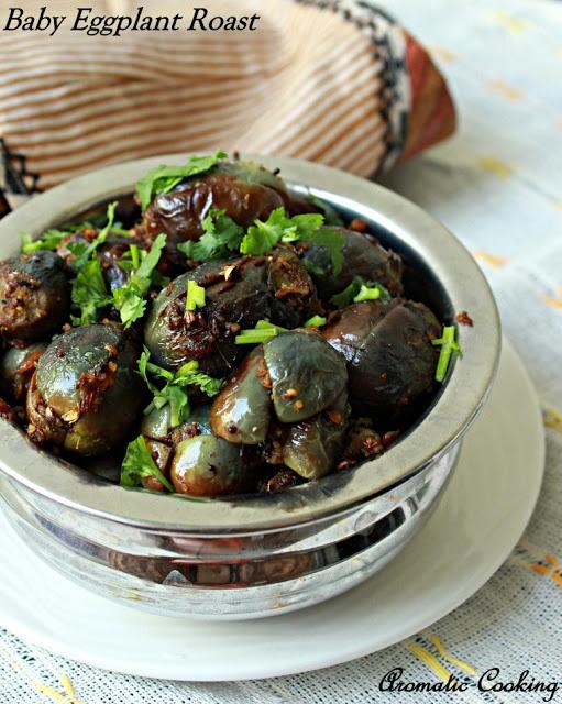 Aromatic Cooking: Baby Eggplant Roast