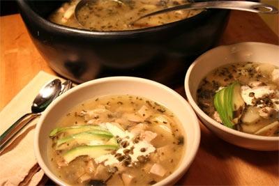 Recipe: Ajiaco (Chicken and Potato) Soup