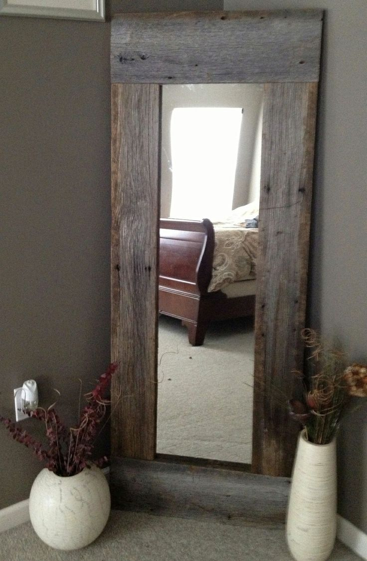 full length barn wood mirror for bedroom sandy hill house pintere