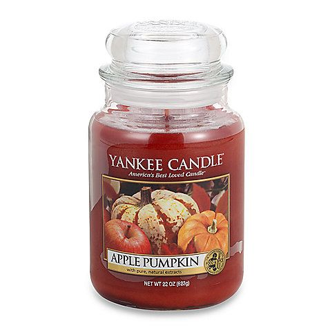 Yankee Candle® Housewarmer® Apple Pumpkin Large Classic Candle Jar
