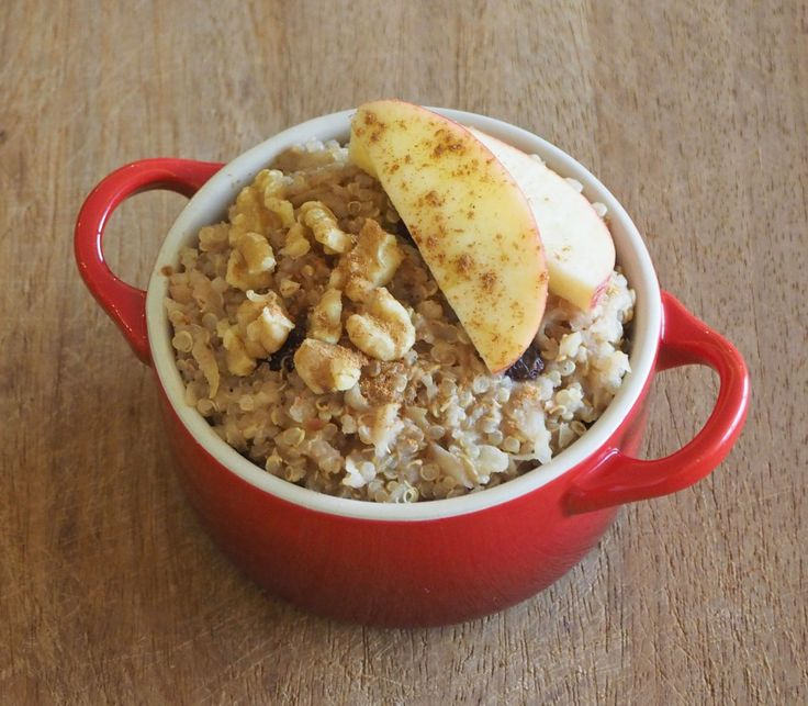 Apple Crumble Quinoa Parfait Recipes — Dishmaps