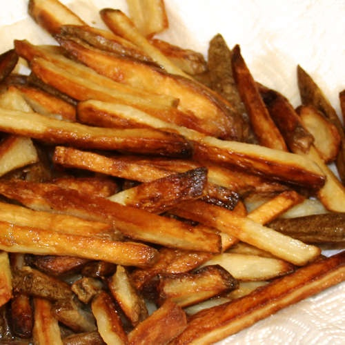 Crispy Oven Baked French Fries | recipes | Pinterest
