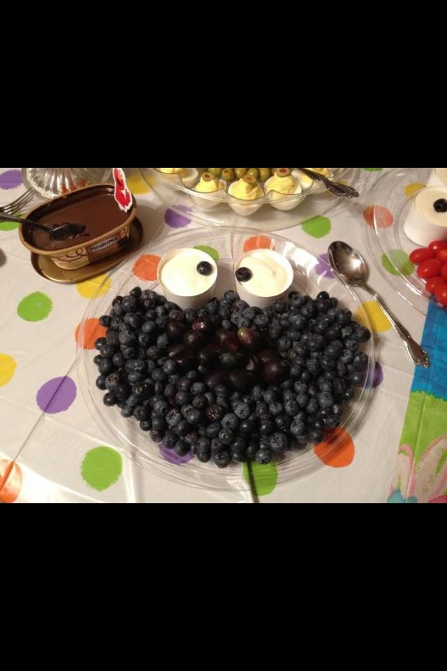 Cookie Monster blueberry treats.. | Blueberry | Pinterest