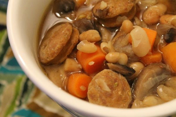 Bean and Sausage Soup | Soups and Sauces and Dressings | Pinterest