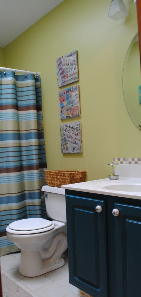 Blah To Beautiful Bathroom Makeover On A Budget