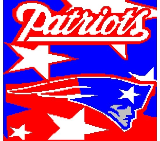 Free Crochet Pattern For New England Patriots Afghan : patriots afghan Crafts Pinterest