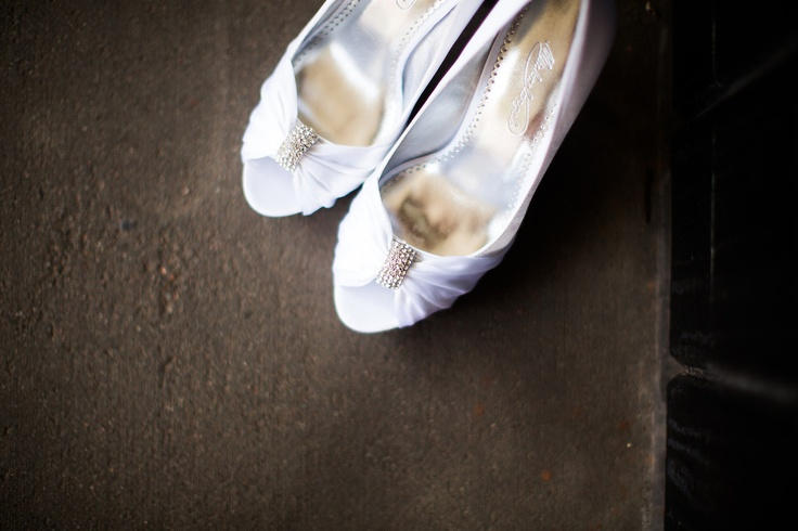 Shoes: Purchased from David s Bridal