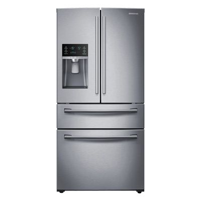 36 Wide 28 Cu Ft 4 Door French Door Refrigerator Stainless Steel