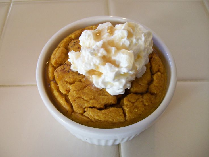 Pumpkin Protein Souffle | Protein-Packed Pumpkin | Pinterest