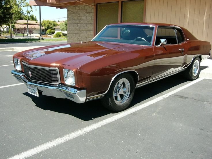 71 Monte Carlo Street Rods And More Pinterest