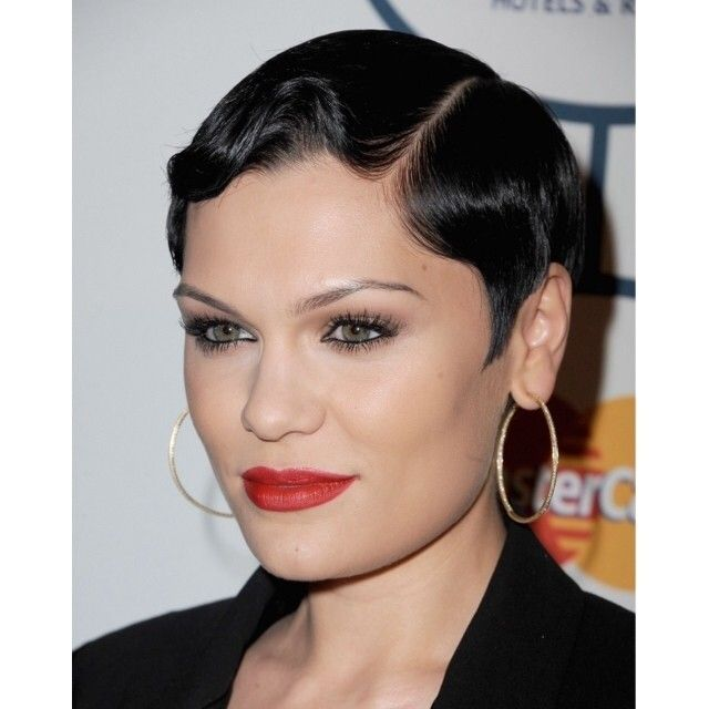 ... hair, using @Rebecca Rodriguez and bumble. fingerwaves on short, pixie