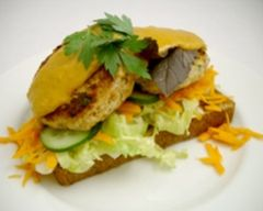 Satay Chicken Burgers * | Brilliant Burgers and Dogs | Pinterest