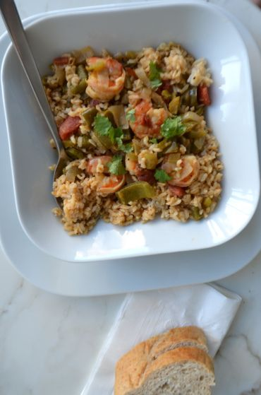 New Orleans shrimp and rice | Food, food and more food! | Pinterest