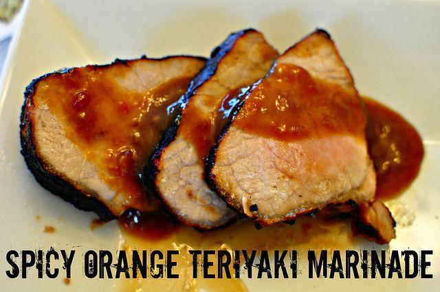Spicy Orange Teriyaki Marinade | good eats | Pinterest