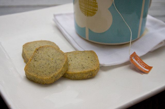 Tea in a cookie - perfect for dunking: earl grey tea cookies by ...