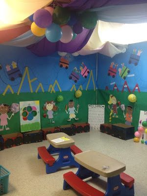 VBS 2013 Colossal Coaster World Decorating Ideas