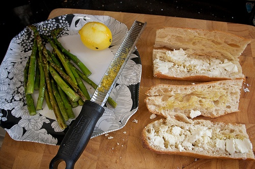 Asparagus & Goat Cheese Sandwiches | Grilled Cheese | Pinterest
