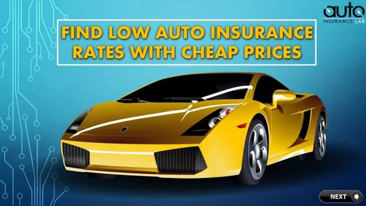 car insurance lowest rates