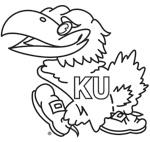Kansas Jayhawk Coloring Pages My Beloved University Of Kansas Jayhawks Coloring Pages