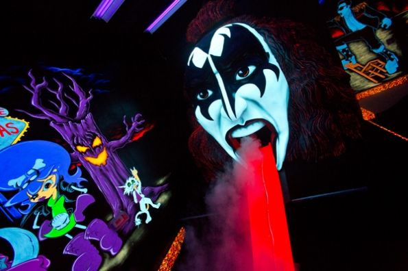 Kiss by monster mini golf in las vegas b day party s for me