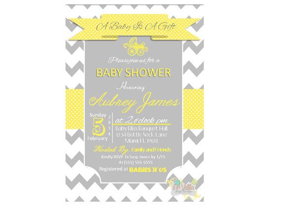 chevron polka dot baby shower invitation by navellapartyboutique