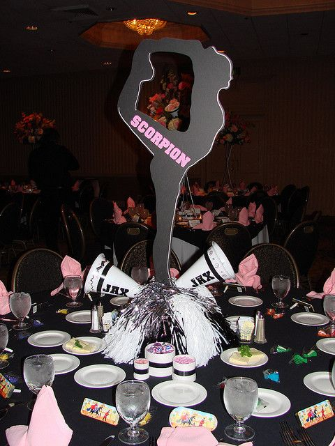 Cute idea for the cheer banquet cheerleading