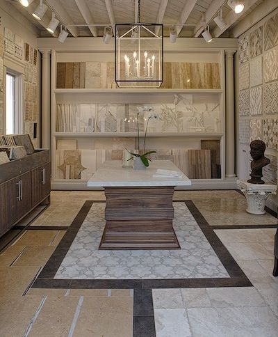 Tile Wall Display Business Showroom Ideas Pinterest