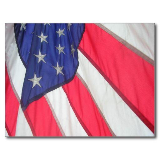flag posting