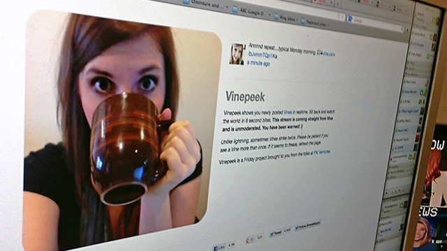 VinePeek dot com Offers Unmoderated Glimpses Into Life Around the