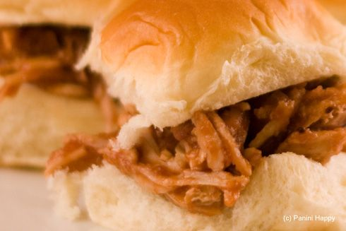 Pulled Turkey Cranberry BBQ Sliders ♥ | Appetizers & Dips ...
