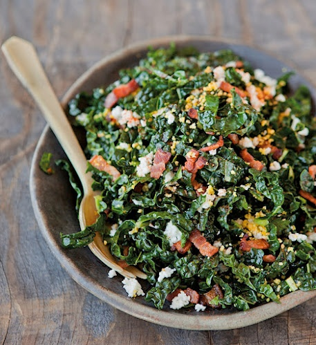 Shredded Kale Salad w/ Pancetta & Hard-Cooked Egg II Williams-Sonoma