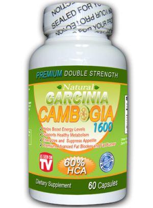 Natural Garcinia Cambogia 1600 review