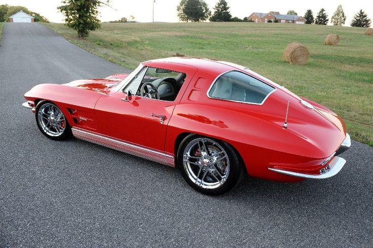 39 63 split window for Corvette split window 63