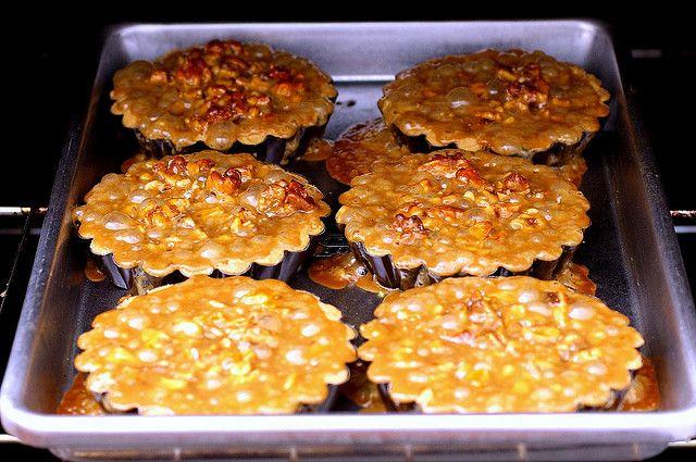 walnut tartlets | party food | Pinterest