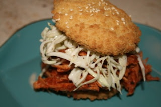 Paleo barbecue-pulled-turkey-sandwiches