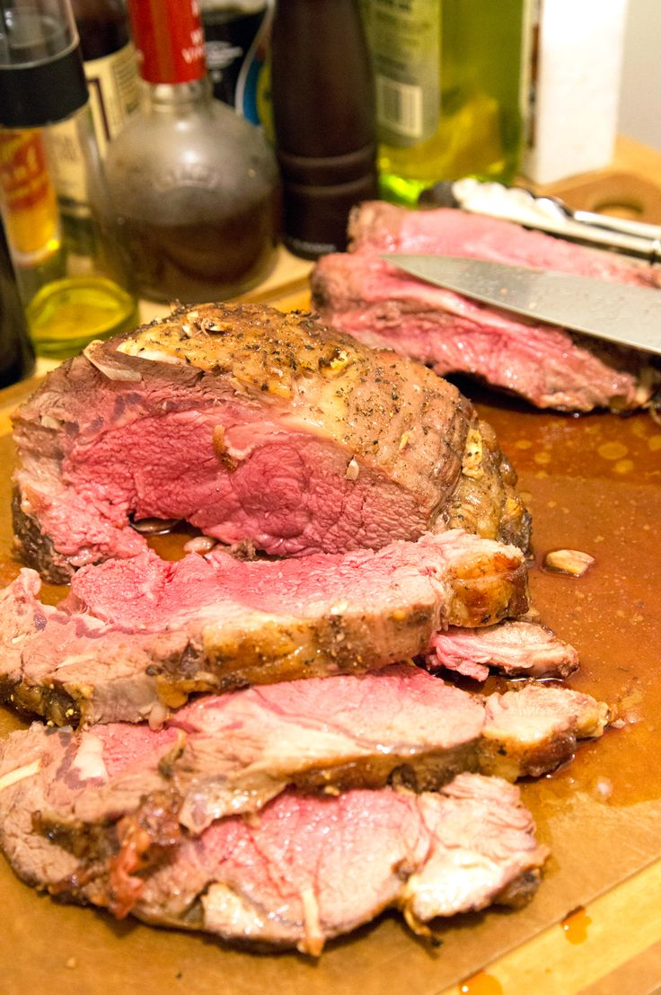 prime rib roast with miso au jus recipe yummly perfect prime rib ...