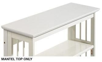 Mantel Top for Folding Stacking Bookcase