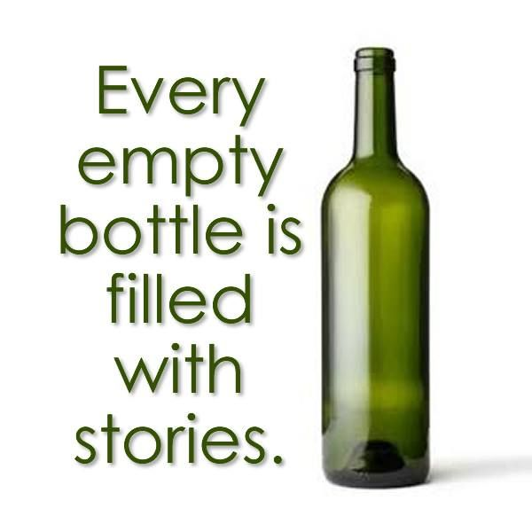 Wine for What can you do with empty wine bottles