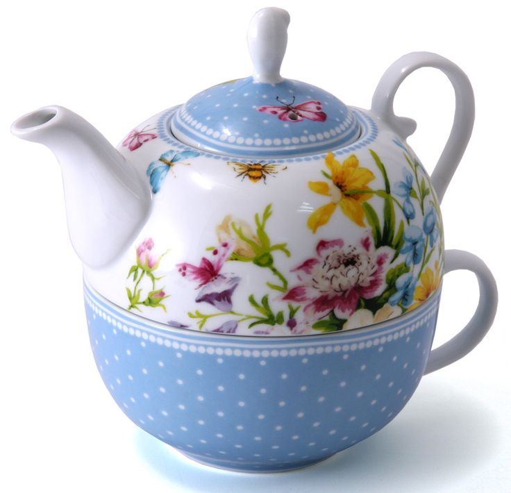 katie alice english garden shabby chic teapots