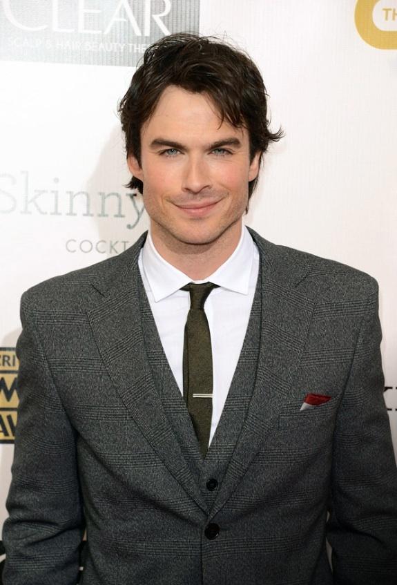 Christian Grey?   Ian ...