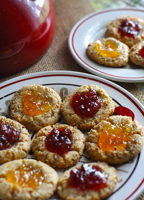 The Noble Wife: National Cookie Month: Peanut Butter & Jelly Cookies