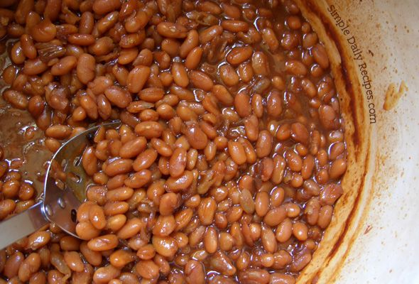 New England Beans Baked in Texas | Recipes | Pinterest