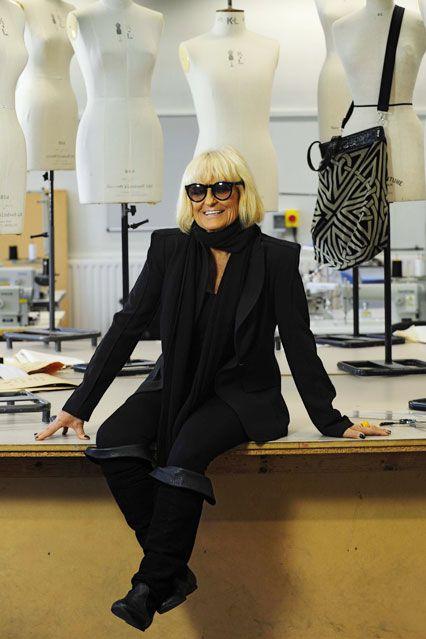 Barbara Hulanicki of Biba fame.