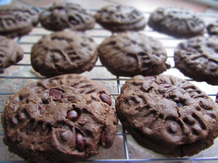 Soft Double Chocolate Chip Cookies (dairy-free, egg-free, nut-free ...