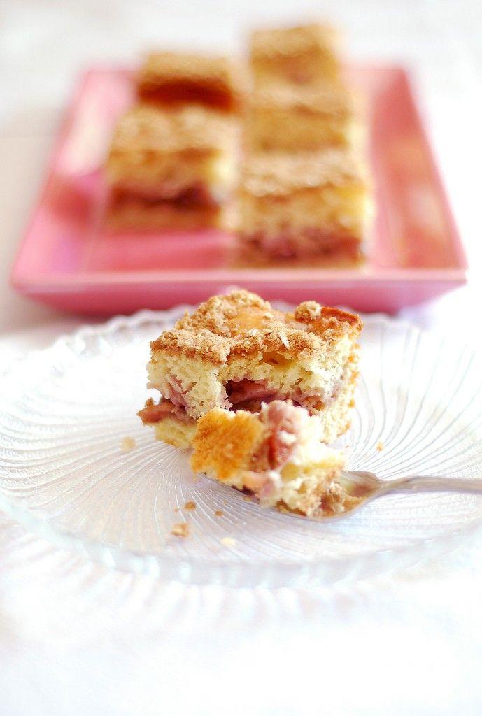 Cherry Streusel Coffee Cake