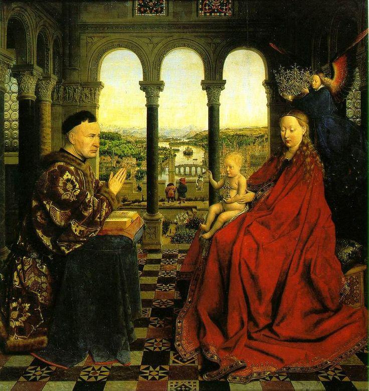 las pinturas más famosas: la virgen del canciller